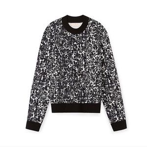 Toryburch Ponte Printed Pullover